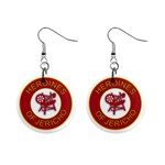 Heroines of Jericho 1  Button Earrings