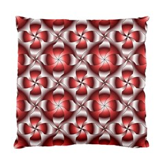 Floral Optical Illusion Standard Cushion Case (two Sides) by Jojostore