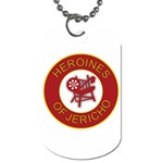 Heroines of Jericho Dog Tag (One Side)