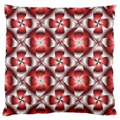 Floral Optical Illusion Standard Flano Cushion Case (One Side) by Jojostore