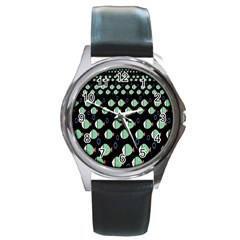 Fish Round Metal Watch by Jojostore