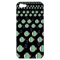 Fish Apple Iphone 5 Hardshell Case by Jojostore