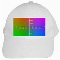 Formula Plane Rainbow White Cap by Jojostore