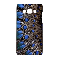 Feathers Peacock Light Samsung Galaxy A5 Hardshell Case