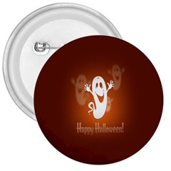 Funny Halloween 3  Buttons by Jojostore