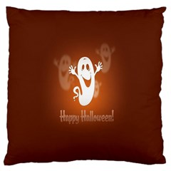 Funny Halloween Large Cushion Case (two Sides) by Jojostore