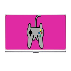 Game Pink Business Card Holders by Jojostore