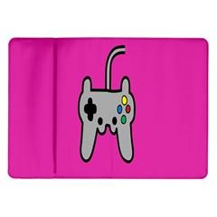 Game Pink Samsung Galaxy Tab 10 1  P7500 Flip Case by Jojostore