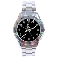 Great Gig Dance Stainless Steel Analogue Watch by Jojostore