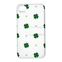 Green Leaf Apple Iphone 4/4s Hardshell Case With Stand by Jojostore