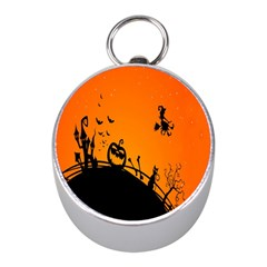 Halloween Day Mini Silver Compasses by Jojostore