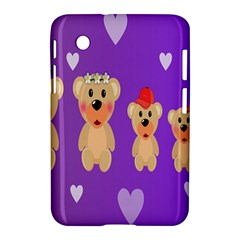 Happy Bears Cute Samsung Galaxy Tab 2 (7 ) P3100 Hardshell Case  by Jojostore