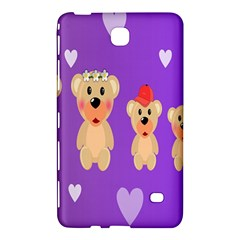 Happy Bears Cute Samsung Galaxy Tab 4 (8 ) Hardshell Case  by Jojostore