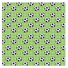 Green Ball Large Satin Scarf (square) by Jojostore