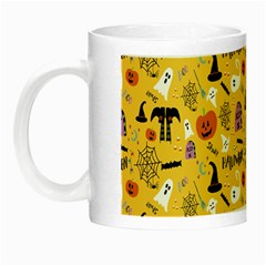 Halloween Pattern Night Luminous Mugs by Jojostore