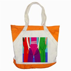 Initial Thumbnails Accent Tote Bag by Jojostore