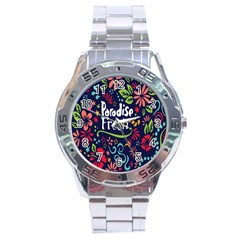 Hawaiian Paradise Fresh Stainless Steel Analogue Watch by Jojostore