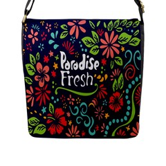 Hawaiian Paradise Fresh Flap Messenger Bag (l)  by Jojostore