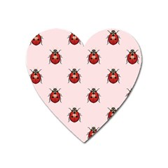 Insect Animals Cute Heart Magnet by Jojostore