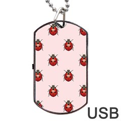 Insect Animals Cute Dog Tag Usb Flash (two Sides)  by Jojostore