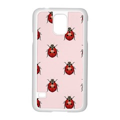 Insect Animals Cute Samsung Galaxy S5 Case (white) by Jojostore