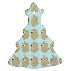 Kukang Animals Christmas Tree Ornament (2 Sides) by Jojostore