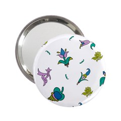 Leaf 2.25  Handbag Mirrors by Jojostore