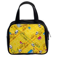 Highway Town Classic Handbags (2 Sides) by Jojostore