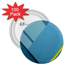 New Bok Blue 2 25  Buttons (100 Pack)  by Jojostore
