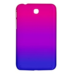 Pink Purple Blue Samsung Galaxy Tab 3 (7 ) P3200 Hardshell Case  by Jojostore