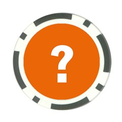 Question Mark Poker Chip Card Guards (10 pack)  by Jojostore