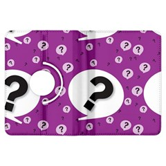 Question Mark Sign Kindle Fire Hdx Flip 360 Case by Jojostore