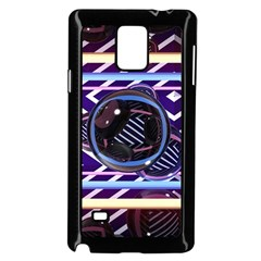 Abstract Sphere Room 3d Design Samsung Galaxy Note 4 Case (black) by Amaryn4rt