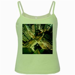 Architecture Buildings City Green Spaghetti Tank by Amaryn4rt