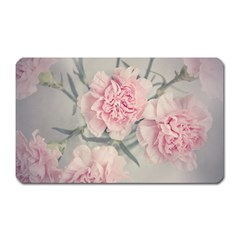 Cloves Flowers Pink Carnation Pink Magnet (rectangular) by Amaryn4rt