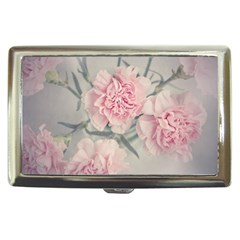 Cloves Flowers Pink Carnation Pink Cigarette Money Cases by Amaryn4rt
