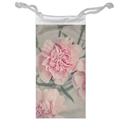 Cloves Flowers Pink Carnation Pink Jewelry Bag by Amaryn4rt