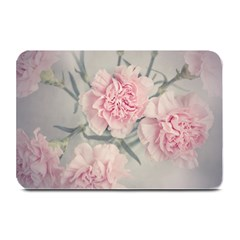 Cloves Flowers Pink Carnation Pink Plate Mats by Amaryn4rt