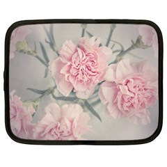 Cloves Flowers Pink Carnation Pink Netbook Case (xl)  by Amaryn4rt