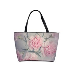 Cloves Flowers Pink Carnation Pink Shoulder Handbags by Amaryn4rt