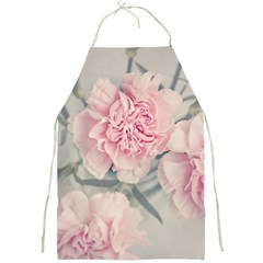 Cloves Flowers Pink Carnation Pink Full Print Aprons by Amaryn4rt