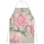 Cloves Flowers Pink Carnation Pink Full Print Aprons Front