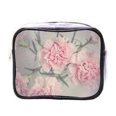 Cloves Flowers Pink Carnation Pink Mini Toiletries Bags by Amaryn4rt