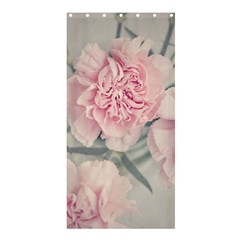 Cloves Flowers Pink Carnation Pink Shower Curtain 36  X 72  (stall)  by Amaryn4rt