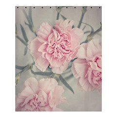 Cloves Flowers Pink Carnation Pink Shower Curtain 60  X 72  (medium)  by Amaryn4rt