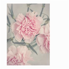 Cloves Flowers Pink Carnation Pink Small Garden Flag (two Sides) by Amaryn4rt