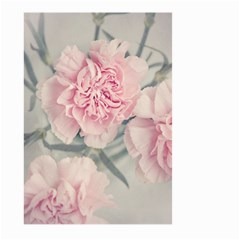 Cloves Flowers Pink Carnation Pink Large Garden Flag (two Sides) by Amaryn4rt