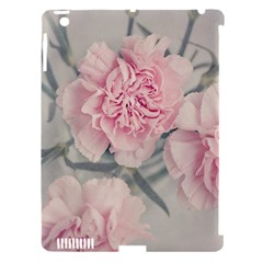 Cloves Flowers Pink Carnation Pink Apple Ipad 3/4 Hardshell Case (compatible With Smart Cover) by Amaryn4rt