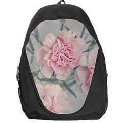 Cloves Flowers Pink Carnation Pink Backpack Bag by Amaryn4rt