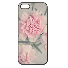 Cloves Flowers Pink Carnation Pink Apple Iphone 5 Seamless Case (black) by Amaryn4rt